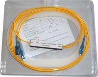 Сварной одномодовый оптический делитель SC-1x2-1310/1490/1550-20/80-0-SC/UPC-0.9mm