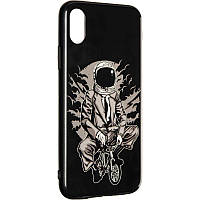 Space Silicon Case for iPhone 11 Pro №1 Black