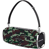 Колонка портативная Bluetooth Hopestar A6 Pro Army блютуз с микрофоном