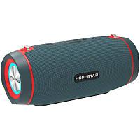 Колонка портативная Bluetooth Hopestar H45 Party Blue блютуз