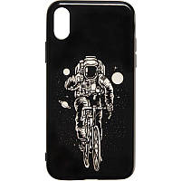 Space Silicon Case for iPhone 7/8 №2 Black, фото 1