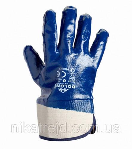 Перчатки нитрильные твердый манжет