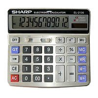 Калькулятор Sharp 2136, двойное питание