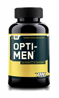 Комплекс витаминов и минералов для спортсменов, Opti-Men Men's Multiple, 90 таблеток, Optimum Nutrition, США