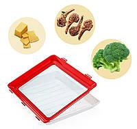 Лоток для хранения пищевых продуктов в вакуумной упаковке Clever | Вакуумный контейнер для продуктов