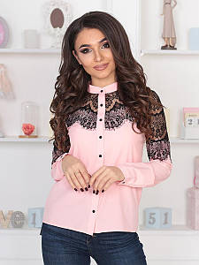 Витончена жіноча блузка Peris, персик