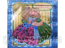 Серветка декор (ЗЗхЗЗ, 20шт) Luxy Вітання від ведмедика (016) (1 пач.)