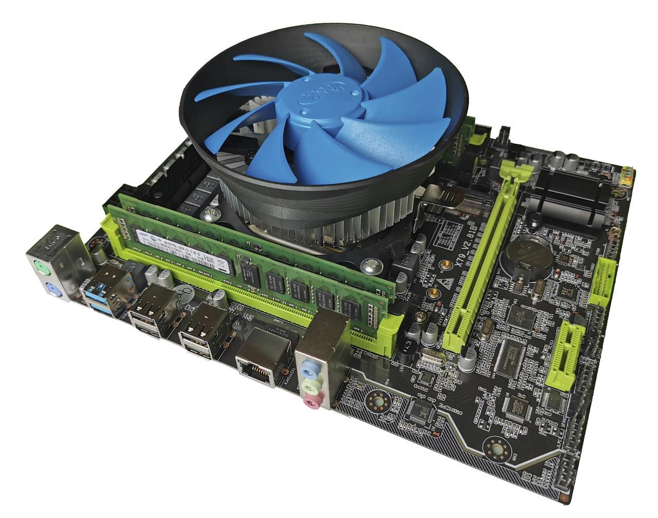 Комплект X79 2.82 + Xeon E5-1620v2 + 16 GB RAM + Кулер, LGA 2011