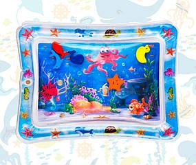 Развивающий игровой коврик с водой Lindo 68-50-8 Разноцветный (F 2010)