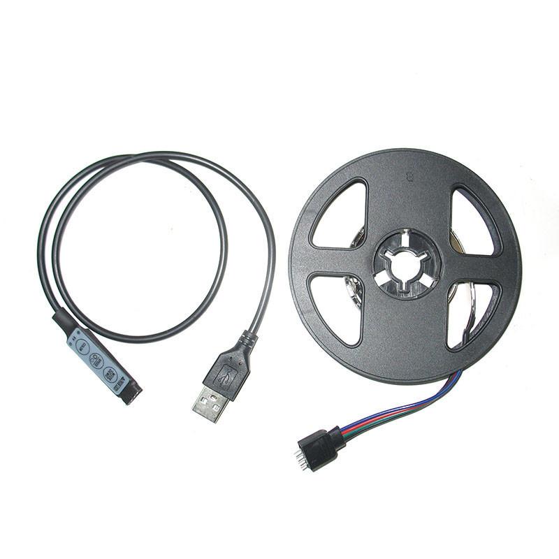 Светодиодная лента с USB и миниконтроллером Feron LS708 RGB LED (008257)