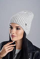 Шапка Leks/Jolie Николь 53-57 Светло-серый (44290)