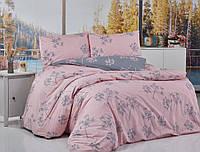 Розорвое постельное белье BELIZZA Турция Евро 200*220 Хлопок 100%