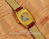 Мужские наручные часы Franck Muller Art Deco Gold Brown реплика Франк Мюллер механические с автоподзаводом, фото 2