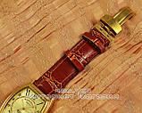 Мужские наручные часы Franck Muller Art Deco Gold Brown реплика Франк Мюллер механические с автоподзаводом, фото 5