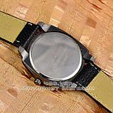 Мужские наручные часы BvLgari Quartz Black White Булгари кварцевые качественная реплика, фото 2