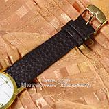 Мужские наручные часы Rolex Tungsten Gold White с календарем кварцевыя кожа Япония люкс реплика, фото 3