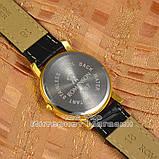 Наручные часы Romanson Adel Quartz Gold Black Roma мужские и женские унисекс кварцевые часики реплика, фото 2