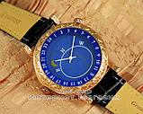 Мужские наручные часы Patek Philippe Sky Moon Tourbillon 6002G-001 Gold Black реплика Кварц Кварцевые, фото 2