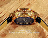 Мужские наручные часы Patek Philippe Sky Moon Tourbillon 6002G-001 Gold Black реплика Кварц Кварцевые, фото 3