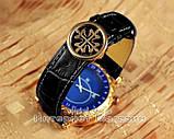 Мужские наручные часы Patek Philippe Sky Moon Tourbillon 6002G-001 Gold Black реплика Кварц Кварцевые, фото 5