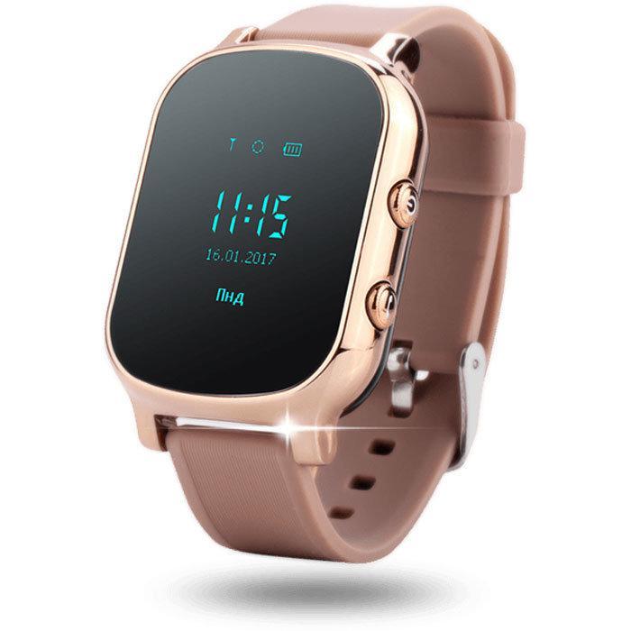 Умные смарт часы Smart Watch T58 GPS трекер Bluetooth смарт часы телефон Android iOS Т 58 для детей