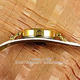 Женские наручные часы Alberto Kavalli Quartz White Gold классические кожаный ремешок качественная реплика, фото 3