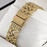 Мужские наручные часы Michael Kors Quartz Gold Black Майкл Корс качественная премиум реплика, фото 3