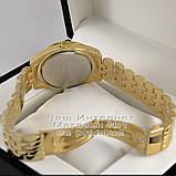 Мужские наручные часы Michael Kors Quartz Gold Black Майкл Корс качественная премиум реплика, фото 4