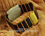 Наручные часы Rado Integral Jubile Gold Black сапфировое стекло реплика ААА мужские женские унисекс, фото 4