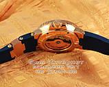 Мужские наручные часы Ulysse Nardin Maxi Marine Chronometer 266-67-3/43 Gold Blue Улис Нардин реплика, фото 4