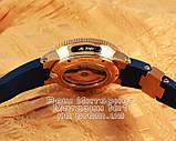 Мужские наручные часы Ulysse Nardin Maxi Marine Chronometer 266-67-3/43 Gold Blue Улис Нардин реплика, фото 5
