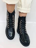 Brooman. Зимние ботинки натуральный мех, натуральная кожа. Р.37.38. Vellena, фото 6