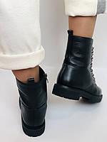 Brooman. Зимние ботинки натуральный мех, натуральная кожа. Р.37.38. Vellena, фото 8