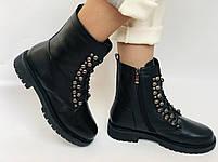 Brooman. Зимние ботинки натуральный мех, натуральная кожа. Р.37.38. Vellena, фото 3