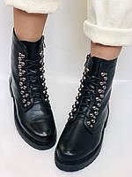 Brooman. Зимние ботинки натуральный мех, натуральная кожа. Р.37.38. Vellena, фото 5