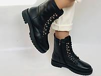 Brooman. Зимние ботинки натуральный мех, натуральная кожа. Р.37.38. Vellena, фото 2