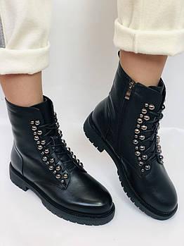 Brooman. Зимние ботинки натуральный мех, натуральная кожа. Р.37.38. Vellena