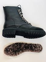 Brooman. Зимние ботинки натуральный мех, натуральная кожа. Р.37.38. Vellena, фото 10