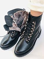 Brooman. Зимние ботинки натуральный мех, натуральная кожа. Р.37.38. Vellena, фото 7
