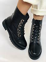 Brooman. Зимние ботинки натуральный мех, натуральная кожа. Р.37.38. Vellena, фото 4