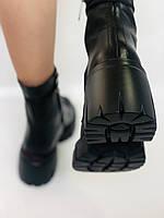 Alpino.Турецкие осенние ботинки из натуральной кожи.. Современный дизайн.  Р 38.39.40, фото 4