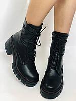 Alpino.Турецкие осенние ботинки из натуральной кожи.. Современный дизайн.  Р 38.39.40, фото 2