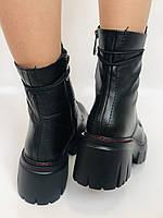 Alpino.Турецкие осенние ботинки из натуральной кожи.. Современный дизайн.  Р 38.39.40, фото 9