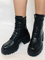 Alpino.Турецкие осенние ботинки из натуральной кожи.. Современный дизайн.  Р 38.39.40, фото 6