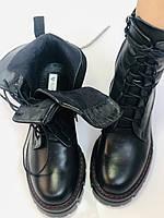 Alpino.Турецкие осенние ботинки из натуральной кожи.. Современный дизайн.  Р 38.39.40, фото 10