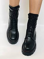 Alpino.Турецкие осенние ботинки из натуральной кожи.. Современный дизайн.  Р 38.39.40, фото 8