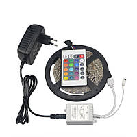 Светодиодная лента RGB 3528 LED 5 м (3528RGB), фото 1