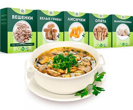 Домашняя грибница Грибная ферма ✅ Чудо грибница, готовый засеянный мицелий для выращивания грибов 6 видов