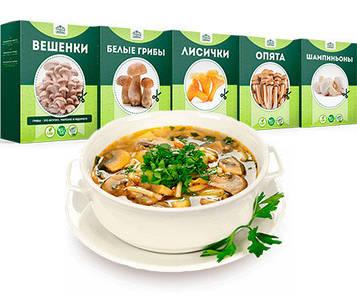 Домашня грибниця Грибна ферма ✅ Диво грибниця, готовий засіяний міцелій для вирощування грибів 6 видів