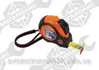 Рулетка магнит. 10м с двусторонней лентой Miol 10-710